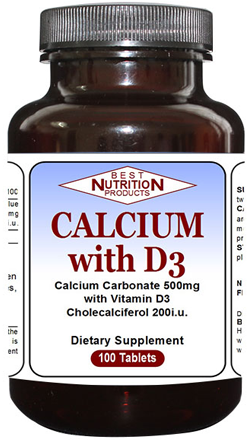 Calcium with D3